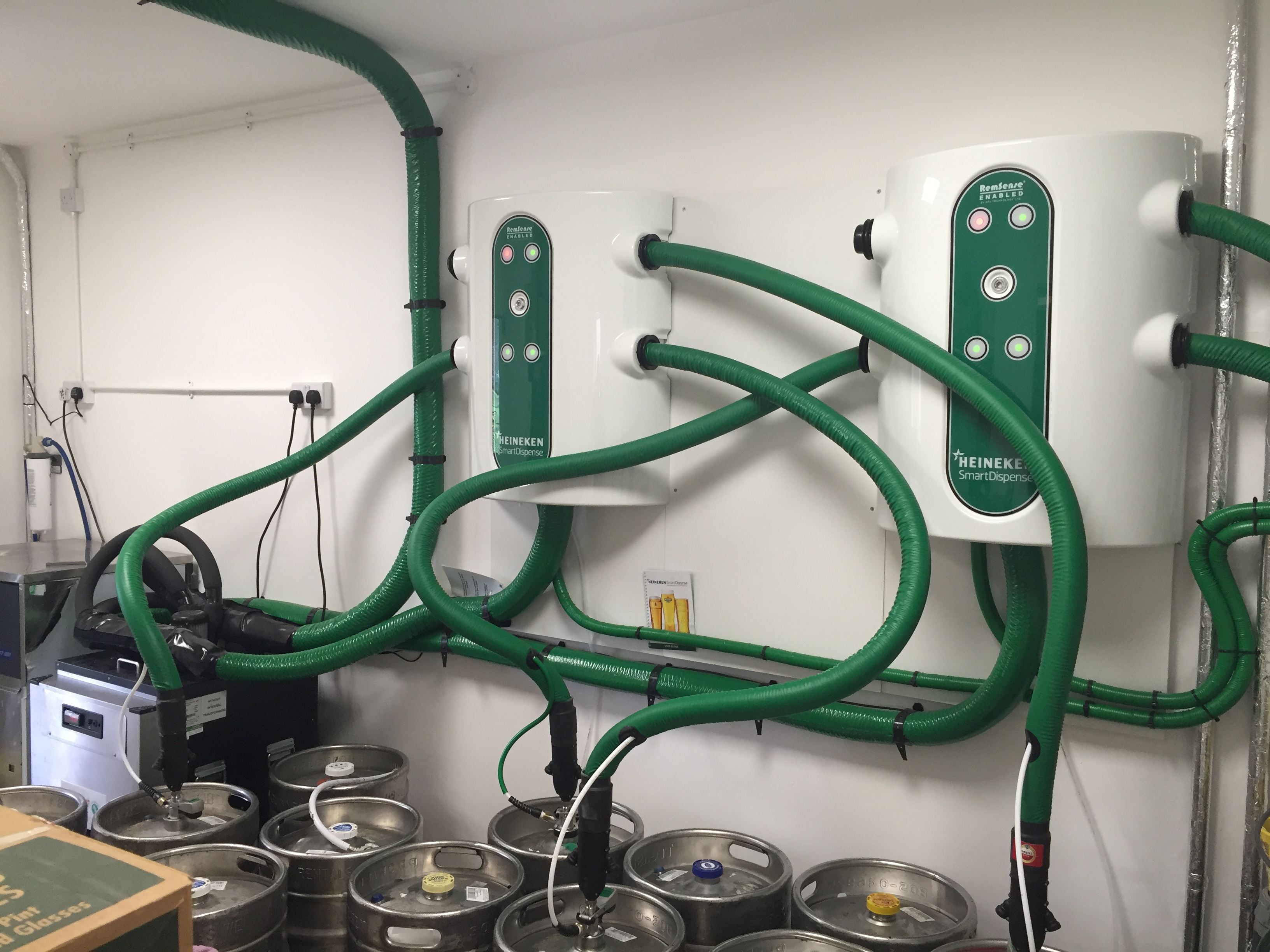 Heineken Smart Dispense Install